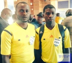 Photo: Meet the youngest FIFA badge referee from Nigeria